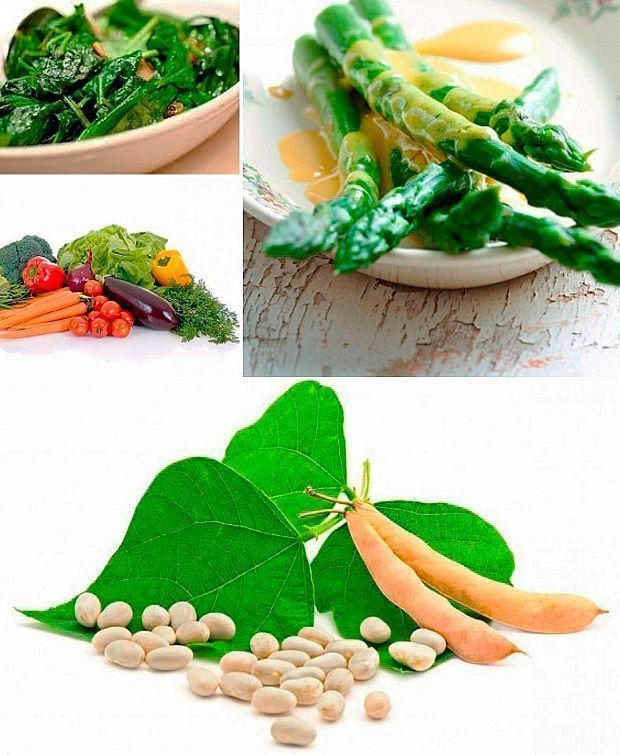 verduras fase crucero